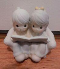 Precious Moments Memories Our Wedding Porcelain Figurine Anniversary 1987 106763