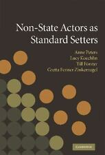 Non-State Actors as Standard Setters (2009, Hardcover)