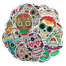 50pcs/pack Car Decoration Colorful Terror Skull Fashion Sticker Art Graffiti