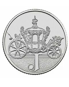Rare 2018 Alphabet A-Z 10p Ten Pence Coin J - Jubilee From Sealed Bag