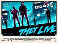 "THEY LIVE Poster Print by Matt Ferguson 40"" x 30"" MONDO"