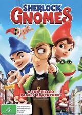 SHERLOCK GNOMES DVD NEW & SEALED- FREE POSTAGE! REGION 4