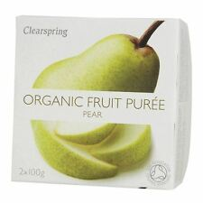 Clearspring puree di frutta Pera 2x100g