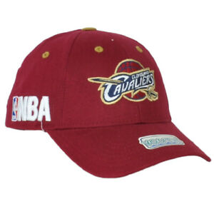 NBA Cleveland Cavaliers Youth Kids Burgundy Hat Cap Adjustable Curved Bill