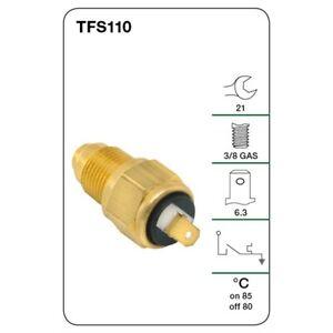 Tridon Thermo Fan Switch TFS110 fits Daihatsu Feroza Soft Top 1.6 i 16V