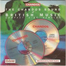CHANDOS SOUND OF BRITISH MUSIC - PROMO CD (1991) WALTON BRITTEN ELGAR FIELD ETC