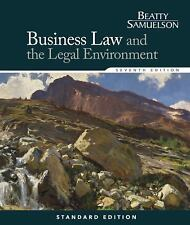Business Law and the Legal Environment, Standard Edition TEXT ONLY