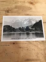 Postcard Harrison Hot Springs Hotel And My, Cheam B.C. Canada Vintage P03