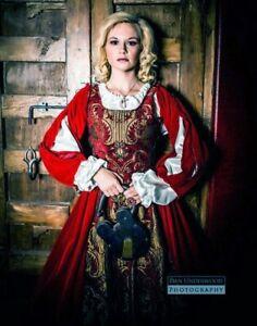 3 piece Custom Made Renaissance Brocade & Velvet Dress