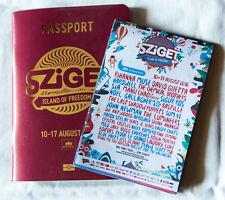 SZIGET 2016 festival PaSSPORT programme + info flyer MUSE NOEL GALLAGHER RIHANNA