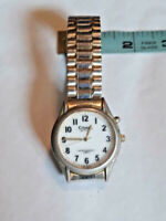 Mens Citadel Nitelite Silver-tone/Gold-Tone Watch ~ TESTED ~ Ships FREE