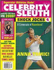 ANNA KOURNIKOVA Celebrity Sleuth Magazine 2000 Vol 13 No 7 WWF SABLE