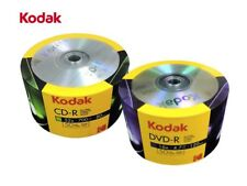 100 Kodak COMBO DEAL (50 16X DVD-R & 50 52X CD-R Blank Logo Top Media Disc)