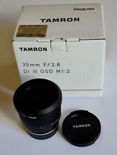 Tamron 35mm f/2.8 Wide Angle Lens For Sony E-mount - Excellent Plus