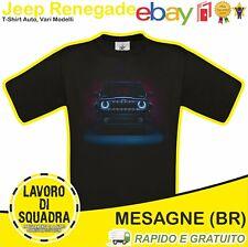 T-Shirt Jeep Renegade Limited Fuoristrada Suv Auto Car Automobile Italy Italia