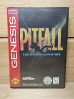 Pitfall: The Mayan Adventure (Sega Genesis, 1994) Complete & Tested Activision