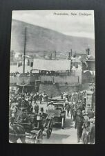 More details for postcard new tredegar procession inc horse & cart in caerphilly wales unposted