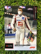 Topps NOW Formula 1/ F1 / MICK SCHUMACHER / RC #2/ DEBUT RACE / HAAS URAL KALI