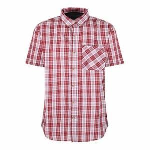 Men's Regatta Eathan Short Sleeve Checked Lightweight Summer Walking Shirt