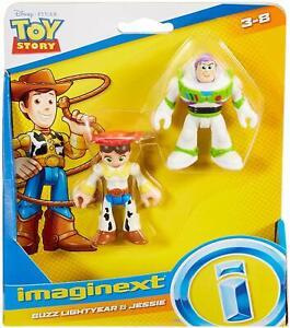 NEW Disney Pixar Toy Story 4 Imaginext Buzz Lightyear & Jessie
