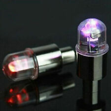 2pcs Colorful LED Wheel Tyre Tire Air Valve Stem Cap Light Lamp Bulb Universal