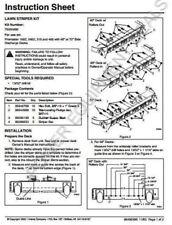 Genuine Ariens Gravely KIT- STRIPER 60 & 72in Part # 79202600