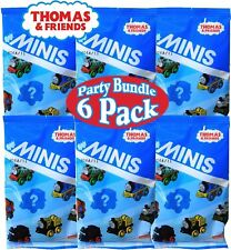Fisher-Price Thomas & Friends MinisBlind Bags Gift Set Party Bundle - 6 Pack