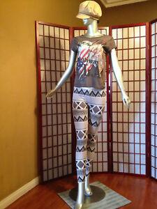 Divided Gray Legging Womens Apparel Sze 12 Waist 29 Ins 26 Cott Blend Garment