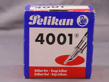 Pelikan Vintage Red Bottled Ink --4001--1 ounce bottle