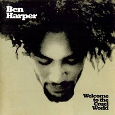 BEN HARPER Welcome To The Cruel World CD BRAND NEW