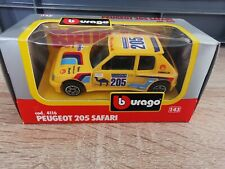 (BO10) Bburago  1:43 Peugeot 205 Safari - OVP