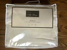 New King 100% Super Fine Australian Merino Lambswool Cream Blanket Made in Italy