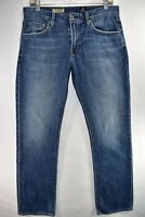 Adriano Goldschmied AG The Protege Mens Straight Sz 31x32 Medium Wash Meas 31x33
