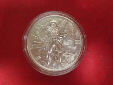 The Captain Coin 2 ounce  .999 Fine  Silver  In   Deluxe Capsule