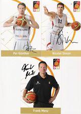 3 ak per Günther, Nicolai Simon, Frank Menz, Deutsche seleccion