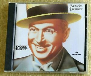 Maurice Chevalier - Encore Maurice : ASV Living Era CD