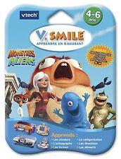 Cartouche de Jeu V.Smile - CONSOLE Vtech Vsmile - Monstres Contre Aliens - NEUF