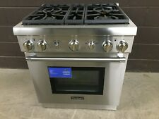 """Thermador PRG304GH 30"""" Gas Pro-Harmony Range 4 Burners Stainless"""