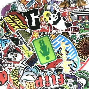 100Pcs/Lot Stickers Bomb Decals Vinyl Roll Car Skate Skateboard Laptop Luggage