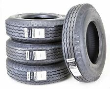 4 New Zeemax Heavy Duty Highway Trailer Tires 8-14.5 14PR LR G