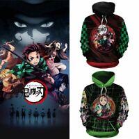 Demon Slayer: Kimetsu no Yaiba 3D Pullover Hoodie Sweatshirt Pullover Cosplay