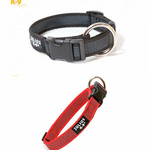 Halsband, Hundehalsband, Julius K9 Color & Gray, rot, grau, Schnellverschluß