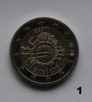 2 € Euro common commemorative coin 2015 EU Flag 30  A D F G J GERMANY