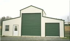 AMERICAN BARN--ALL GALVANIZED STEEL & INSULATED!! BUILDING - GARAGE-METAL