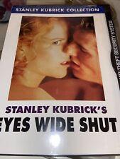 Eyes Wide Shut R-Rated Edition Dvd New Stanley Kubrick Nicole Kidman Tom Cruise