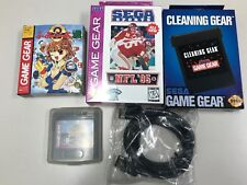 New Sega Game Gear Bundle (Puyo Puyo 2, Link Cable, World Series Baseball +MORE)