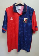 Maglia calcio Umbro Cagliari vintage 90 shirt camiseta maillot soccer maillot