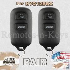 2x Car Remote Control for 2001 2002 2003 2004 2005 2006 2007 Toyota Highlander