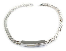 Gucci Thin Gourmette Chain G Shaped 925 Sterling Silver Bracelet YBA223738001