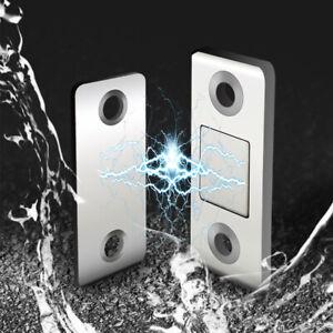 Cabinet Magnetic Door Catch Magnet Latch Door Holder Cupboard Closer Silver 75E